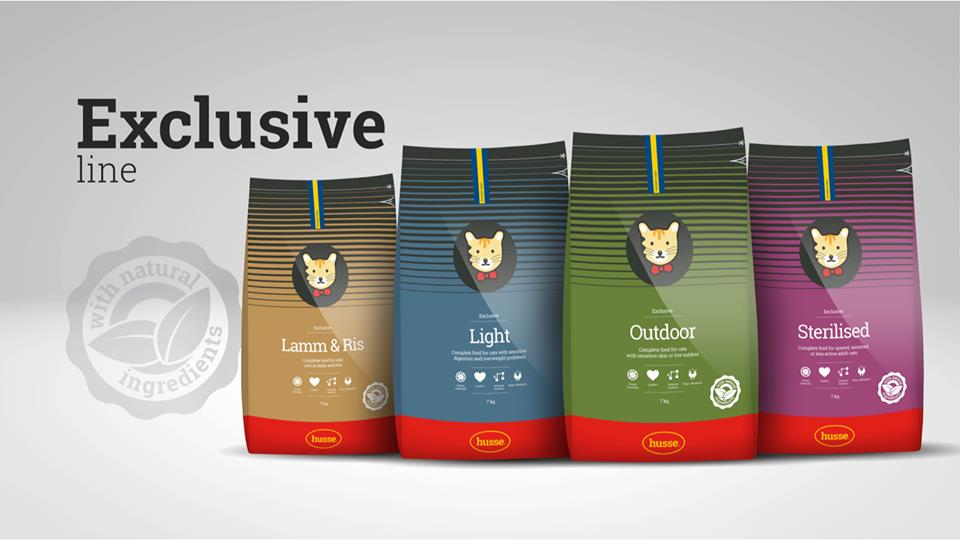 Exclusive Range Cat Dry Food